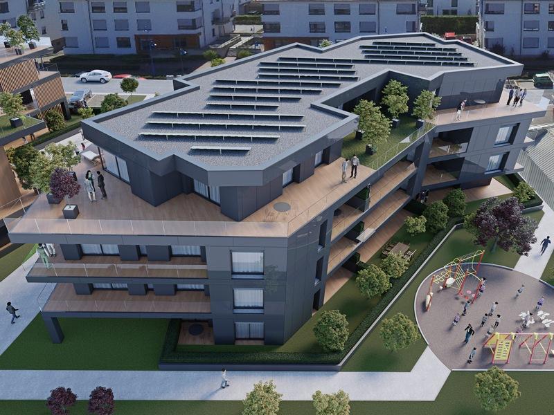 acheter appartement 2 chambres 86.81 m² helmsange photo 2