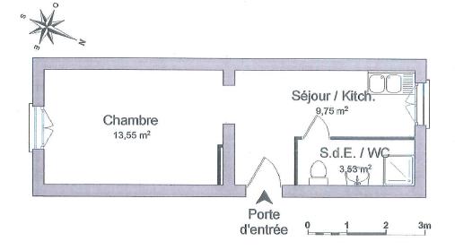 Appartement à vendre F1 à Algrange