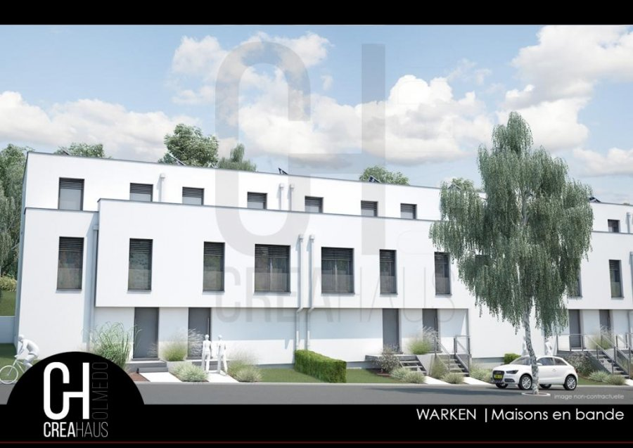 acheter maison mitoyenne 4 chambres 126 m² warken photo 2