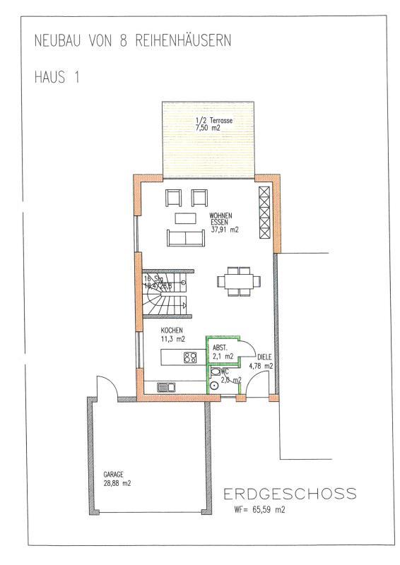 doppelhaushälfte kaufen 5 zimmer 161 m² trier foto 5