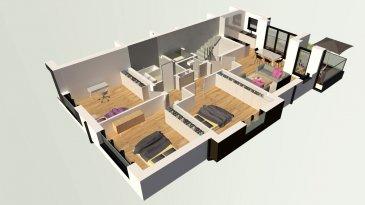 Lumineux Appartement à louer avec 3 chambres à coucher.  Dans une nouvelle résidence   1ière location  Composition de l'appartement:  Hall d'entrée  Grand Living avec cuisine équipée ouverte et accès au balcon (+/-10m2)  Salle de bain avec douche italienne et sanitaire (tout équipée)  3 chambres à coucher  WC séparé  Surface: habitable +/-102m2 + balcon 10m2  Stationnement intérieur dans garage  Disponible à partir du 15.03.2020  Excellente Situation géographique   Spécifiés techniques :  - Ascenseur (privatif)  - Ventilation contrôlée double flux  - Chauffage au sol  - Châssis PVC Triple vitrage  - Stores électriques Raffstore  - Finitions haut de gamme  La résidence est érigée près du Kräizbierg à Dudelange, à deux pas du centre-ville/école primaire/secondaire/centres commerciaux/parc Le'h et avec bon accès aux grands axes de circulation.