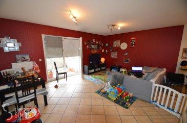 L\'agence immobilière Christine Simon Sàrl ayant un mandat exclusif vous propose un appartement d\'une superficie totale d\'environ 54,10 m2 situé à PERL (D) au prix de 195.000€<br>L\'appartement est actuellement en location.<br>Idéal aussi pour un investisseur !<br><br>Descriptif de l\'appartement au 1er étage:<br>- Appartement Nr. 6 d\'environ 54,10 m2 avec une cuisine équipée ouverte sur le séjour avec accès à un balcon, un petit débarras et une chambre à coucher. Une salle de douche avec toilette. Un emplacement voiture extérieur et une cave.<br><br>La localité PERL (D) se trouve au coeur des 3 frontières, l\'Allemagne le Luxembourg et la France. Perl est une localité agréable à vivre aussi bien pour des jeunes que pour les personnes âgées. Dans la commune et celles voisines se trouvent de nombreux commerces, écoles p.ex. école fondamentale et le Lycée de Schengen ainsi que des crèches accessibles à pied. L\'entrée de l\'autoroute Saarebruck-Luxembourg est à quelques minutes en voiture.<br><br>Distances de Perl à:<br>02 km à L-Schengen<br>24 km à D-Merzig<br>27 km à D-Saarburg<br>45 km à L-Kirchberg<br><br>Pour plus d\'informations, n\'hésitez pas à contacter l\'agence par eMail: info@chrisitinesimon.lu ou par téléphone: +352 26 53 00 30.<br>Les honoraires d\'agence sont à charge de l\'acquéreur  (3,57 %). <br><br><br><br /><br />Die Immobilienagentur Christine SIMON GmbH mit Alleinauftrag, bietet Ihnen zum Verkauf eine Eigentumswohnung mit einer gesamt Wohnfläche von ungefähr 54,10 qm gelegen in Perl (D) zum Preis von 195.000€.<br>Die Wohnung ist zurzeit vermietet. <br>Geeignet auch für Investoren !<br><br>Beschreibung der Wohnung im 1t\'en Stock:<br>- Wohnung Nr. 6 von ungefähr 54,10 qm. Eine offene und eingerichtete Einbauküche mit Wohnraum und Zugang zur Terrasse. Ein kleiner Abstellraum und 1 Schlafzimmer, ein Duschraum mit Toilette. Dazugehörend ein Aussenstellplatz und ein Kellerraum.<br><br>Perl (D) befindet sich im grenzenlosen Dreiländereck Deutschland