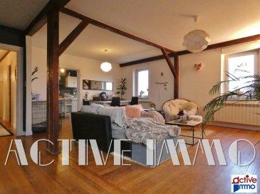 Appartement Manom 4 pièce(s) 113 m2. COUP DE COEUR ASSURE!<br/><br/>Sur la commune de Manom, idéalement placé, à proximité du centre ville de Thionville/ Proche GARE, au sein d\'une petite copropriété bien entretenue, devenez propriétaire d\'un charmant appartement F4 de 113m² au 2ème étage.<br/><br/>Composée d\'une vaste entrée, d\'une cuisine de 14m² attenante au salon-séjour lumineux de plus de 33m², de 3 grandes chambres (12,70 / 12,90 / 16,60 m²), d\'une salle de bain équipée d\'une baignoire et d\'une douche ainsi qu\'un espace reversé à la partie buanderie, d\'un cellier et d\'un wc séparé.<br/><br/>En complément vous profiterez d\'une place de parking privative au sein de la copropriété, ainsi que d\'une cave de 13m².<br/><br/>Vous serez séduit par les atouts charme de cet appartement avec ses poutres apparentes et belles hauteurs sous plafond, son parquet massif, mais aussi sa vue dégagée sur les rives de la Moselle.<br/><br/>Chauffage individuel gaz, chaudière 2020<br/>Double vitrage Pvc<br/><br/>Charges de copropriété de 100€/mois comprenant consommation eau froide, électricité des communs, assurance immeuble, frais de syndic.<br/>Aucune procédure en cours<br/>Prix de vente honoraires à charge vendeur<br/><br/>EXCLUSIVITÉ - A SAISIR<br/><br/>Marie PETITFRERE : 06 95 67 68 76<br/>Copropriété de 10 lots (Pas de procédure en cours).<br/>Charges annuelles : 1300.00 euros.