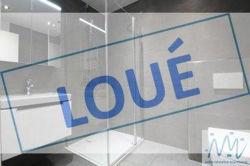 ***LOUE*** ''active relocation luxembourg'' vous propose un magnifique studio meublé dans une résidence (2019) à Belair.  Situé au rez-de-chaussée de la Résidence Villa Soprano ce studio offre: - une belle pièce de vie avec superbe cuisine équipée  - un grand placard sur mesure et coin nuit - une grande baie vitrée donnant accès à la terrasse/logia exclusive sans vis-à-vis et au calme - une salle de douche avec WC,  - un lave-ligne privatif dans la buanderie commune - une cave privative  Loyer mensuel : 1.350 euros Avances charges : 150 euros Garantie: 4.050 euros Disponibilité: 1er septembre 2021 Durée de location: minimum 1 ans contrat CDI  Adresse:  181-183, rue des Aubépines,  L-1145 Luxembourg  Idéalement situé au RDC d'une résidence de standing neuve en face de la C.S.S.F. et du CHL, Maternité ....  arrêt de bus devant la résidence,  accès rapide vers le centre-ville et l'autoroute.   Supermarché Delhaizze et Lidl et d'autres commerces, restaurants à 2 min de marche.  Chauffage sol, châssis triple vitrage avec stores électriques, VMC.  Si vous pensez vendre ou louer votre bien, active relocation luxembourg est à votre service pour vous conseiller au mieux et vous faire profiter de toutes ses compétences en vue de commercialiser votre bien de manière professionnelle et rapide.  +352 270 485 005 info@arlux.lu www.arluximmo.lu