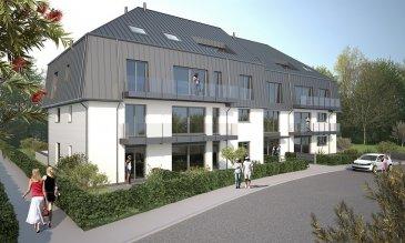 Future construction d'un appartement situé au1 er étage d'une résidence nommée ,,Leonardo Da Vinci,, sise à 500 m du centre de Kayl dans un nouveau lotissement.  L'appartement dispose de : Hall d'entrée, grand living/salle à manger avec accès au balcon, cuisine ouverte, 2 chambres à coucher, 1 grande salle de bain avec douche et WC, WC séparé, 1 balcon et cave  Possibilité d'acquérir un emplacement intérieur ttc 3% 25.250€  Prix indiqué avec 3% TVA.