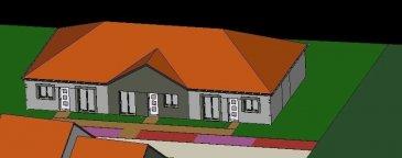 A Piedmont (Mont-Saint-Martin), dans un environnement calme, Nouveau lotissement, proche commodités, Maison Mitoyenne de plain pied avec 2 places de parking, cuisine ouverte sur séjour (52.20m²), 1 chambre (11.20m²), SDB avec w-c (5.20m²), dégagement (1.50m²),  sur 1.39 ares de terrain. Livraison prévue au 1er Trimestre 2022.