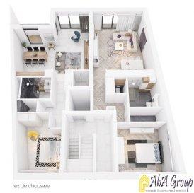 TEL. 691 262 909 Parviz MOLLAIAN REZ-DE-CHAUSSÉE : Appartement (00.01) 1 ch. 64,56m² ; jardin privatif de 46,23m² et cave de 5,92m²  1er ÉTAGE : Appartement (01.02) 1 ch. 57,44m² ; balcon de 5,98 m² et cave de 4,55m²