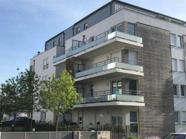 Appartement F4 avec terrasse et garage. METZ   Corchade - Bel appartement de 85 m2 au 4ème et dernier étage d\'une copropriété de 2012  avec ascenseur.<br/>Cet appartement est composé d\'une entrée avec placard, un séjour avec accès terrasse de 55 m2, une cuisine équipée, 3 chambres, une salle de bains, un WC séparé.<br/>Un garage fermé et un parking extérieur sont inclus dans la vente.<br/><br/>Chauffage individuel gaz - DV PVC<br/><br/>Contact : Sandrine Perceval  06.34.65.29.84<br/><br/><br/><br/>Copropriété de 124 lots (Pas de procédure en cours).<br/>Charges annuelles : 1660.00 euros.