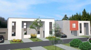 C'est à TERVILLE, commune située sur l'axe METZ/LUXEMBOURG et à proximité directe de THIONVILLE, que C&C IMMOBILIER vous propose de découvrir son nouveau programme. « Les jardins de Terville », composé de 7 maisons, propose des maisons 5 pièces de 85 à 99m2. Norme RT 2012. Spacieux séjour avec cuisine ouverte et accès sur terrasse / jardin, 3 chambres et dressing, une salle de bains et toilettes séparés. Constructions traditionnelles Garages privatifs Terrasses et jardin privatifs Double vitrage renforcé en PVC oscillo-battant Isolation thermique et phonique renforcée Chauffage au gaz individuel   Plus d'informations sur www.ccimmobilier.com ou 03.82.53.52.94