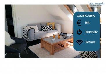 Voir la vidéo : https://youtu.be/cLgbFN6tKVc<br><br>Homeseek Limpertsberg (691 262 005 ou 621 366 194) a le plaisir de vous proposer un très bel et spacieux appartement une chambre, meublé et équipé, d\'environ 72m², libre de 3 côtés, récent et lumineux, sis au 2ème étage sans ascenseur d\'une petite résidence. La vue du balcon est charmante, elle donne sur le village et la campagne.<br><br>Cet appartement est composé de : <br>-1 hall d\'entrée,<br>-1 living/salle-à-manger,<br>-1 cuisine équipée ouverte,<br>-1 chambre,<br>-1 balcon et 1 débarras,<br>-1 salle de bain (lavabo, baignoire/douche et wc),<br>-1 w.c. séparé,<br>-1 emplacement de parking intérieur,<br>-1 emplacement de parking extérieur,<br>-1 emplacement dans la buanderie commune avec lave-linge et sèche-linge privatifs,<br>-1 petite cave.<br><br>Equipements : Télévision SAMSUNG, internet haut débit, meubles de rangement et penderie, miroir sur pied, serviettes et literie, vaisselle, ustensiles de cuisine, plats et casseroles, table et chaises de balcon, matériel d\'entretien (aspirateur, fer à repasser?), lave-linge et sèche-linge.<br><br>Environnement : Reckange appartient à la Commune de Mersch, l\'appartement se trouve à 4 minutes en voiture de la gare de Mersch, à 5-6 minutes des lycées, très proche des accès autoroutiers, du centre commercial ... A 10 minutes des grandes sociétés implantées à Colmar-Berg et dans la zone industrielle. <br><br>Disponibilité : 1 juin 2021<br>Durée du bail : à discuter<br>Conditions financières : <br>Loyer mensuel : 1590€<br>Charges forfaitaires all inclusive : 200€ (eau, chauffage, taxes communales, entretien des communs), 50€ électricité, 60€ internet haut débit.<br>En option : 100€ ménage 2h/15jours.<br>Caution : 2 mois.<br>Frais d\'agence : 1 mois + TVA 17%.<br><br>Pour davantage de renseignements ou une visite, merci d\'appeler Patricia Bertino au +352 691 262 005 ou au +352 621 366 194.<br>Référence agence : 4922313-HL-PB<br><br /><br />To see the video : https://y