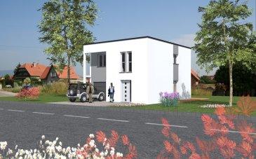 Cette maison à toit plat de 95m², élégante et familiale réunit au RDC une entrée séparée, un espace ouvert salon/séjour cuisine répondant aux besoins de la vie de tous les jours.  Les grandes ouvertures vers l'arrière donnent un accès direct à votre terrasse.   L'étage propose 4 chambres et une salle de bain  Garage 1 voiture.   Pour un projet unique à votre image. MAISONS BATIVIA la référence