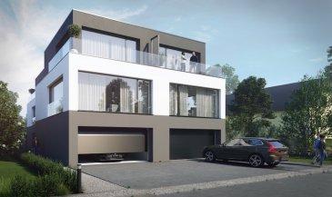 Luxembourg-Cessange  Situé à proximité de toutes commodités, nouveau projet de 2 maisons tri-familiales jumelées à Luxembourg-Cessange.  Dotée d'une architecture moderne, ces deux résidences de 3 appartements s'intègrent parfaitement à l'environnement et répondent aux nouvelles normes énergétiques. De plus, l'esprit
