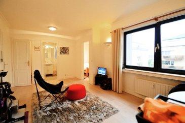 -- FR --<br/><br/>Très bel appartement meublé et lumineux de de 37 m2, situé au 2ème étage.<br>Il donne sur l\'arrière d\'une résidence donc est plutôt calme.<br><br>Il est situé  à Luxembourg-Gasperich, à deux pas du Ban de Gasperich et de la Cloche d\'Or.<br><br>Il se compose d\'<br>un living avec laminade au sol et accès à la cuisine<br>une cuisine équipée ouverte, <br>une chambre à coucher séparée avec laminade au sol<br>une salle de douche<br>un wc séparé<br><br>Au sous-sol, il y a une cave privative et une buanderie commune.<br><br>Disponible au 1er Septembre 2019<br />Ref agence :53