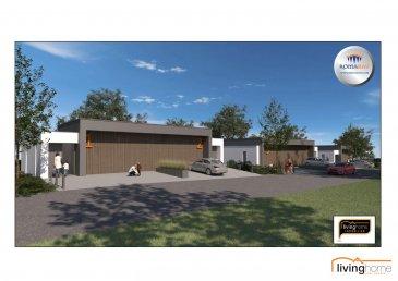 LIVINGHOME immobilier vous présente en collaboration avec l\'entreprise ROMABAU le futur projet de 5 maisons de haut standing, situé dans le village de Baschleiden. <br><br>La construction donne à chaque niveau une vue dégagée et panoramique sur la vallée. <br><br>Le LOT 4 comprend:<br>- surface terrain: 6,03 ares<br>- surface habitable net 202,01 m2<br>- surface totale : 242,97 m2<br><br>Prix de vente:<br>EUR   1.054.800 TTC 3% <br>(après acceptation de l\'Enregistrement)<br><br>Les projets sont planifiés selon les besoins de chaque client. <br><br>DESCRIPTION:<br><br>Rez-de chaussée: (45,48 m2)<br>- Entrée principale<br>- Hall d\'entrée avec WC séparé<br>- chambre à coucher I avec dressing et balcon<br>- salle de bain<br>- garage pour 2 voitures (31,82 m2)<br><br>Niveau -1: (76,91 m2)<br>- Hall avec WC séparé<br>- living / salle à manger / cuisine avec accès terrasse<br>- buanderie<br><br>Niveau -2: <br>Rez de Jardin: (79,62 m2)<br>- Hall avec WC séparé<br>- chambre à coucher II avec accès terrasse<br>- chambre à coucher III avec accès terrasse<br>- salle de douche<br>- salle de cinéma<br>- local technique (9,14m2)<br><br>- Jardin<br><br>ASPECTS TECHNIQUES:<br>- construction en blocs bisotherm<br>- toiture plate isolée <br>- châssis PVC triple vitrage avec volets roulants électriques<br>- chauffage: chauffage sol, pompe à chaleur air-eau<br><br>SITUATION GEOGRAPHIQUE:<br><br>BASCHLEIDEN se trouve en plein coeur du Parc naturel du Lac de la Haute Sûre, une région qui par sa beauté de ses paysages propose une multitudes d\'attractions sportives pendant la saison estivale, comme p.ex. la baignade, la pêche, la voile, la plongée, le canotage ou bien encore de magnifiques randonnées pédestres, à cheval ou VTT. <br>Proche de toutes commodités, école régionale de Harlange, Lycée technique du Nord Wiltz, crèches, maison relais, restaurants, banques, centre commercial, business center... <br>Les transports en commun sont assurés. <br><br>DISTANCES:  <br>Wiltz 15 minutes<br
