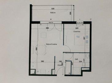PROGRAMME NEUF A HERSERANGE  Dans un environnement calme, proche commodités  Un appartement T2 de 43.36m² avec une place de parking se composant ainsi :  Au 1ier étage: entrée (4.03m²), une chambre (11.54m²), Salle d'eau avec w-c (5.69m²), séjour/cuisine (22.10m²),  un balcon (9.84m²).  TVA 5.5% selon revenus  Livraison prévue au 4èmeTrimestre 2023.