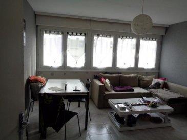 THIONVILLE ' F2 de 43 m², au 3ème étage, cave et garage.  Appartement F2 de 43 m² quartier Briquerie dans une copropriété bien entretenue offrant un parc et de multiples stationnements, offrant un séjour de 18 m², une cuisine 6 m², une entrée, 1 chambres de 11 m², sdb avec douche et wc, chauffage individuel gaz, Double vitrage Pvc, garage, parking dans la copro, cave de 6 m²,   Appartement lumineux, au calme, profitant d'un beau parc bien entretenu, situé proche des axes routiers, et des commodités.  Belle opportunité à 90 000 '  Actuellement loué à 454 ' mensuel dont charges 50 ' avec eau '  Rentabilité - 5.33 %  A propos de la copropriété : Charges mensuelles 50 ' -36 Lots et appartements DPE :D  Honoraires à la charge du vendeur Agora Thionville : 03 82 54 77 77