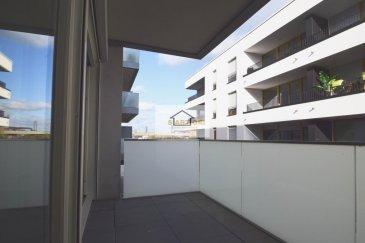 Mr. Patrignani (+352 691 317 853) conseiller immobilier de l\'agence immobilière SARTORI de Bettembourg, a l\'honneur de vous présenter ce magnifique appartement à Differdange situé dans le quartier Arboria à deux pas du nouveau centre commercial Opkorn.<br><br>L\'appartement se compose d\'un beau hall d\'entrée, d\'un Wc séparé, d\'une cuisine ouverte au séjour, d\'une élégante salle de douche avec Wc, de deux charmantes chambres à coucher et d\'une terrasse à 8m2.<br><br>Pour compléter le bien, vous disposerez aussi, d\'une buanderie commune, d\'une cave privative et d\'un emplacement intérieur.<br><br>- très belles finitions<br>- à proximité de toutes commodités<br>- pas de travaux à prévoir<br>- disponibilité immédiate<br />Ref agence :485