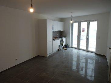 DAMM-PROMO-LUX vous propose un appartement magnifique à Dudelange. L'appartement se trouve dans une résidence d'une commerce, d'un duplex et de ce appartement. L'appartement se trouve dans le 1ère étage de la résidence:  1ère étage:  - Couloir - 1 chambre à coucher  - 1 salle de bain  - WC séparée - V.M.C - Balcon: 5,86 m2  La résidence a beaucoup des commerce entoure :  - La gare  - Le Smatch  - La pharmacie  - L'orthodontiste etc.  La résidence sera fini au fin du mois mars 2021.