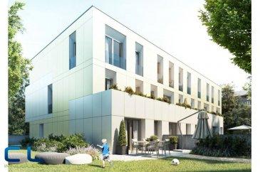 Nous vous proposons à la vente dans le nouveau projet  immobilier de standing « Place Benelux » : Une maison de 148m2 dont 135,44m2 habitables.  Au sous-sol : - Un box fermé avec accès privatif - une cave Au rez-de-chaussée : - Des jardins privatifs - Une grande terrasse avec un accès au jardin - Un WC séparé - Une cuisine ouverte - Un grand living  Au premier étage : - Deux chambres à coucher - Deux salles de bain  Au deuxième étage : - Une chambre à coucher - Une salle de bain - Une terrasse de +/- 5 m2   Ce nouveau projet  à l\'architecture contemporaine est constitué de 5 maisons en bande, d\'une résidence de 6 appartements et d\'un local commercial.  Il est idéalement situé à la Place Benelux, dans le quartier résidentiel d\'Esch nord, quartier calme et accueillant, qui possède encore de petits magasins de proximité, d\'autres infrastructures (telles que piscine, école, crèches, hôpital \') ou services (poste, banques etc), se trouvent aussi dans ce quartier. Les transports en commun ainsi que l\'autoroute A 4 se trouvent à quelques mètres.  A 5 minutes en voiture du site Belval.  Les prix indiqués comprennent la TVA à hauteur de 3%, il y a la possibilité d\'acheter en supplément des emplacements de parking intérieurs.  N\'hésitez pas à nous contacter pour de plus amples renseignements, les plans et cahier de charges sont à votre disposition sur  simple demande.  Commission d\'agence comprise dans le prix à la charge du vendeur.   Ref agence : EACVB69-79-M4