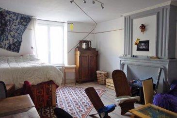Appartement situé rez-de-chaussée. Il se compose d'une cuisine aménagée, un grand salon, ainsi qu'une salle de bains avec toilettes.