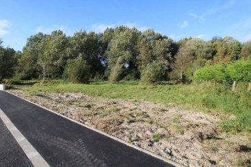 réf: 58315  Terrain constructible de 1760 m2 libre de constructeur, viabilisé Lot n°5 - Route de Berck à Merlimont  Plan sur demande  Réf: 51074