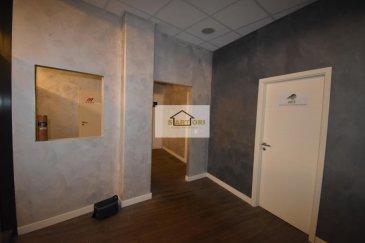 Mr. Spagnuolo (+352 621 510 569 ) de SARTORI agence immobilière à Bettembourg vous présente ce local commercial installé dans le batîment