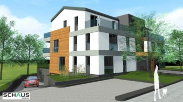 APPARTEMENT 04 AU PREMIER ETAGE surface habitable 84.90m2 terrasse 22.95m2  Hall d'entrée avec vestiaire, WC séparé,  cuisine ouverte, débarras,  living donnant sur la terrasse  Salle de bains  2 chambres  Prix:  530.161 € à   3% de TVA  580.161 € à 17% de TVA   vendu avec un parking intérieur de 34.219 € à 17% de TVA  emplacement extérieur disponible de 20.241 € à 17% de TVA   RESIDENCE 'MARVILLE'  Située à Heisdorf, commune de Steinsel, la résidence est à moins de 20 minutes de Luxembourg-Ville et à 10 minutes à peine du centre de Kirchberg. L'accès aux transports en commun et au réseau autoroutier est facile et rapide.   Sa proximité des centres commerciaux de Walferdange, des infrastructures scolaires et sportives, souligne la situation privilégiée de l'emplacement de la résidence. La résidence de haut standing, d'architecture contemporaine et de très haute performance énergétique, comprend 8 appartements:  2 appartements de 1 chambre  6 appartements de 2 chambres  avec terrasses et grands balcons, ainsi qu'un parking souterrain et 1 cave par appartement (les prix des parkings ne sont pas inclus)   La superficie des appartements varie de 51,48 m2 à 84,90 m2 (surface de vente)   Classe énergétique AAA Ref agence :882127-APP04-VA0224
