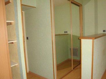 Appartement de type F1 bis en rdc comprenant une cuisine, un séjour, une salle de bain, un WC et une cave.