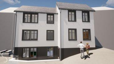 L'agence immobilière Christine SIMON, vous présente en exclusivité cette nouvelle Résidence ARALIA qui sera implantée sur un terrain dans la Commune de VIANDEN, 95 GRAND-RUE. Début de construction 2020 livraison 2022. Passeport énergétique A-A Construction matériaux haut de gamme.  Appartement 5 au au troisième étage de deux chambres à coucher et une splendide terrasse avec vue sur le château de Vianden d'une surface habitable de 85,54 m2 et sa terrasse de 23,77 m2 orientation sud. Il se compose comme suit: Hall d'entrée, wc séparé, séjour, cuisine ouverte, 2 chambres à coucher, salle de bain, débarras, une grande terrasse de 23,77 m2. Une cave et un très grand grenier d'env. 81,95 m2, local technique, local poubelle communs.  Pour de plus amples renseignements, un rendez-vous ou le cahier de charges et les plans, contactez l'agence au numéro 621 189 059 ou cs@christinesimon.lu  Ref agence :Appart 5- dernier étage -Vianden