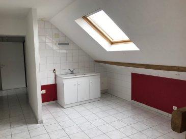 Dans petit immeuble, F3 lumineux. Dans petit immeuble de 3 appartements, au 2ème dernier étage, Bel F3 lumineux et spacieux composé d\'un entrée, d\'un salon séjour ouvert sur cuisine, 2 chambres, une salle de bains avec baignoire, wc séparé. Chauffage central au gaz.pas de garage.<br/> Disponible de suite.