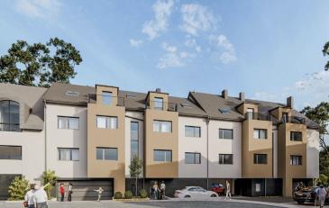 ROLLINGEN  La résidence se compose de 12 appartements, de 8 emplacements car-port, de 4 emplacements intérieurs, de 6 emplacements extérieurs et de 12 caves réparties sur 3 niveaux .  Lot B/022  La diversité et la qualité des choix de matériaux offerts, vous permettront de finaliser un bien de haut standing. L'immeuble est conçu et construit suivant le standard énergétique ''passif'' correspondant à une classe ''AB'' du passeport énergétique. Les appartements seront équipés d'une installation de chauffage au sol, d'une ventilation mécanique contrôlée, de fenêtres en triple vitrage équipées de volets en aluminium.  Les prix de vente sont affichés avec une TVA 3% incluse.  Pour plus d'informations veuillez nous contacter.  info@newgest.lu ou 691125293