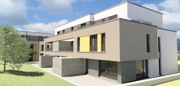 Bridel : Résidence HYDE PARK  Ensemble résidentiel comportant plusieurs appartements, duplex et maisonnettes. Idéalement situé à Bridel dans un écrin de verdure près de l'école primaire et du complexe sportif entre la rue F.-C. Greden et la rue des pins.  Bridel se trouve à 8 km du Kirchberg et du centre ville de Luxembourg, dans un cadre calme et en pleine nature. L'accès autoroutier pour l'A6 est à 4 km.  Les bâtiments seront construits selon les dernières normes environnementales en vigueur AA.  Les maisonnettes auront un garage pour deux véhicules ainsi que des caves séparées dans le souterrain. Elles disposeront toutes d'un jardin privatif.  Livraison début 2020  Inclus dans les prix de vente :  Carrelage et parquet 65 '/m2 Meubles sous lavabo Fenêtres et Stores en alu Portes intérieurs  Tous les prix annoncés s'entendent à 3% TVA, sujet à une autorisation par l'administration de l'enregistrement et des domaines.   Ref agence :Hyde Park II