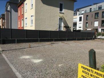DALPA S.A. vous propose en location plusieurs places de parkings extérieures situé à l\'arrière d\'un immeuble résidentiel sur la route de Beggen. <br><br>Possibilité de louer jusqu\'à 6 places de parking pour 160 € HTVA / emplacement.<br><br>L\'objet se situe au : 307, route de Beggen, L-1221 Luxembourg<br>Disponibilité : immédiate <br><br>Nous sommes à votre entière disposition pour tous renseignements complémentaires ou visites des lieux. Veuillez contacter Antonio Lobefaro sous le numéro + 352 621 469 311 ou par mail sur info@dalpa.lu <br><br>Si vous souhaitez vendre ou louer votre bien, nous mettons à votre disposition notre professionnalisme, savoir-faire ainsi que notre qualité de service. Nous vous proposons des estimations rapides, gratuites et réalistes<br><br><br>DALPA S.A. offers you for rent multiple exterior parking spots, located on the back of a residential building located on the ?route de Beggen?.<br><br>Possibility to rent up to 6 parking spaces for 160 € / spot.<br><br>The object is ideally located at: 307, route de Beggen, L-1221 Luxembourg<br><br>Availability: immediate<br><br>We are at your entire disposal for any further information or site visits. Please contact Antonio Lobefaro under the number + 352 621 469 311 or by email on info@dalpa.lu<br><br>If you want to sell or rent your property, we provide you with our professionalism, know-how and our quality of service. We offer you fast, free and realistic estimates