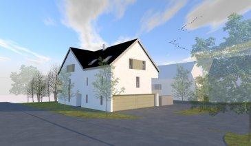 Fis Immobilière vous présente une toute nouvelle résidence en futur construction qui sera située dans la commune de Hobscheid.  Résidence Kreuzerbuch  Cette résidence de haut standing comprendra au sous-sol 4 caves, une buanderie commune, chaufferie et un local de compteurs.  Au Rez-de-Chaussée il y aura un sas d'entrée, un hall, un local de vélos, un local de pobelles et 4 parkings fermés. De plus le Rez-dechaussée comprendra un appartement de 106.49m2 avec sa terrasse de 11.99m2.  Au 1er étages et aux combles se trouveront 3 duplex. Le duplex A2 de 120.28m2 avec sa terrasse de 12.72m2, le duplex A3 de 128.47m2 avec sa terrasse de 12.72m2 et le duplex A4 de 120.75m2 avec sa terrasse de 12.72m2.   L'immeuble comprendra en tout 4 unités très spacieuses et sera équipé de fenêtres triple vitrage, VMC, Paneaux solaires, chauffage au sol, etc.  Passeport énergétique = AA  Pour tout renseignement veuillez nous contacter au +352 621 278 925