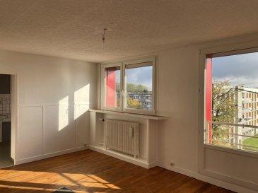 BELARDIMMO vous propose en mandat exclusif à vendre un appartement avec deux chambres à coucher à Longuyon.<br><br>L\'appartement se situe dans une résidence paisible, calme et verdoyante,  près du centre ville de Longuyon.<br><br>Il se compose ainsi :<br><br>- hall d\'entrée<br>- 2 chambres à coucher avec parquet au sol ( 11 m² - 10 m²)<br>- salle de douche avec WC<br>- séjour avec parquet au sol <br>- cuisine séparée, avec possibilité d\'ouverture sur le séjour<br><br>Viennent compléter ce bien, une cave privative ainsi qu\'un cellier privatif.<br><br>La résidence bénéficie d\'un parking commun extérieur facilitant ainsi le stationnement à proximité.<br><br>Idéalement situé, proche de toutes commodités et à 20km de la frontière luxembourgeoise et belge<br><br>Taxe foncière 500€<br><br>L\'appartement est disponible de suite et nécessite un rafraichissement.<br>   <br>Pour toutes informations complémentaires ou pour une éventuelle visite veuillez contacter Mons. Palmucci au <br>+352 691 105 887.