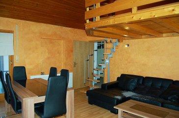 *** Trop tard déjà loué ***  CONCILIUM Immobilière ,  Vous propose un chaleureux appartement en location à Angelsberg.   - Hall d'entré,  - Cuisine équipée,  - Living - 1 chambre à coucher,  - 1 petit Living/Bureau en mezzanine, - salle de bain avec WC,  - cave, - emplacement de parking en surplus (80€/mois)   ***Nous recherchons en permanence pour la vente et pour la location, des appartements, maisons, terrains à bâtir etc pour notre clientèle. N'hésitez pas à nous contacter si vous avez un bien pour la vente ou la location.***   Estimations gratuites. Pour l'obtention de votre crédit, notre relation avec nos partenaires financiers vous permettront d'avoir les meilleurs conditions, inclus dans nos services GRATUITS.