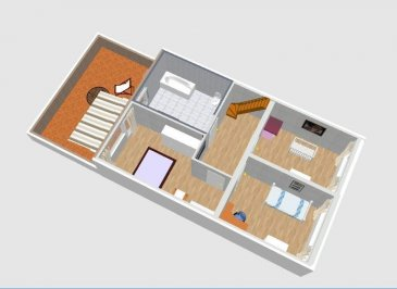 Isma BAUER RE/MAX Partners, spécialiste de l'immobilier au Grand-Duché de Luxembourg, vous propose à la vente cette maison moderne et familiale en construction (gros œuvres finis)  située proche des axes routier et des supermarchés sur un terrain de +/- 4.47 ares et comprenant:  RDC: - un hall. - un grand garage pour 2 voitures voire plus. - un local technique. - WC séparé. - une buanderie,  accès sur une terrasse et une jardin a l' arrière. Etage 1: - une grande pièce à vivre de +/- 60m², elle se compose d'un salon/séjour plus la cuisine avec un escalier donnant sur le jardin. Etage 2: - hall de nuit. - 3 chambres de  9m²,10m² et12m² avec un accès sur une terrasse de 23m² plein sud. Etage 3: un grenier aménageable d'un superficie de 22m² au sol qui pourrai devenir une chambre avec salle d'eau.  Le prix s'entend à 3% TVA (sous réserve d'acceptation par l'Administration de l'Enregistrement).  Classe énergétique A-B ( réglementation grand-ducale au 01/01/2015 ) Possibilité de modifier les cloisons intérieures afin de créer des espaces sur mesures suivant les besoins des familles. n'hésitez pas a nous contacter. contact: Isma BAUER isma.bauer@remax.lu +352621813784 Ref agence :5095827