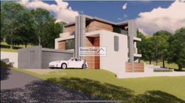 ImmoCasa vous propose  à Schuttrange, (Neihaischen) de 10,39a un projet d'une maison de 500m2 (Clé en main).  La Maison libre de 4 façades dans une situation tranquille et proche du Kirchberg, Findel, Sandweiler et Luxembourg-ville sur un terrain de 10.39are.  Cette maison comprend: Au RCH,  un garage (34.34m2) pour 2 voitures. Hall d'entrée Double séjour (62.22 m2) Cuisine ouverte  (27.35 m2) avec accès à une grande terrasse et jardin WC séparé  Au 1er étage  Chambre 1 (18.70m2) avec salle de douche (5.94m2) Chambre 2 (18.40m2) avec salle de douche (5.94m2) Chambre 3 (20.35m2) avec salle de bain (14.20m2)  Au 2e étage 1 grande chambre  (30.97m2) avec dressing (14.16m2) 1 salle de bain (12.30m2)  Au sous-sol Buanderie, piscine et une piscine à bulles intérieur Sauna, salle de fitness 1 salle de bain, 1 sallee de douche Cave, Local technique Finitions haut de gamme Triple vitrage, chauffage au sol.  Pour d'autres informations ou une visite des lieux veuillez contacter l'agence. Cahier de charge et plans sur demande   Nous recherchons en permanence de biens pour la vente dans toute le Luxembourg. Achat éventuelle par notre société d'investissement. Nos estimations sont gratuites.   Ref agence :1906529