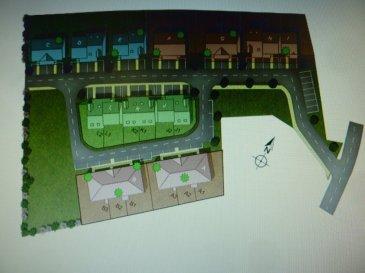 A Piedmont (Mont-Saint-Martin), dans un environnement calme, Nouveau lotissement, proche commodités, Maison Mitoyenne de plain pied avec 2 places de parking, cuisine ouverte sur séjour (48.30m²), 1 chambre (11.20m²), SDB avec w-c (5.20m²), dégagement (1.50m²),  sur 1.38 ares de terrain. Livraison prévue au 1er Trimestre 2022.