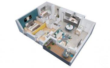 Magnifique appartement en Nouvelle Construction situé à Kehlen, à 20 minutes du Kirchberg.<br><br>Dernier appartement disponible, situé au 1er étage d\'une résidence à 10 unités.<br><br>Superficie habitable de +/-78m² offrant:<br><br>- 2 chambres à coucher, <br>- cuisine  ouverte, <br>- séjour lumineux donnant accès à la terrasse <br>- salle de bain <br>- WC séparé<br>- cave<br><br>Possibilité d\'acquérir un parking souterrain au prix de 28 000€.<br><br>Documentation disponible sur demande.<br><br>Pour infos, contactez-nous au 26 311 992<br>