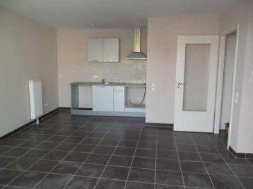 entrée/séjour/cuisine équipée 1 chambre/sdb wc lavabo 1 terrasse/placard/visiophone