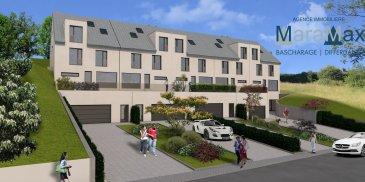 L'agence immobilière MaraMax s.àr.l a le plaisir de vous proposer cette lumineuse maison jumelée haut de gamme, implantée sur terrain de 6a 49ca. La maison se trouve en état futur d'achèvement et se situe proche de toutes commodités, dans une rue calme et agréable à Fingig.  Vous offrant une surface habitable de +/- 241.64 m2, une surface totale de +/- 324.65 m2, la maison se compose comme suit:  Sous-sol: - hall de cave, - un garage pour 2 voitures, - chaufferie avec local technique, - 2 caves.  Rez-de-chaussée: - spacieux living / salle à manger lumineux, accès terrasse arrière de +/- 6.17 m2 et terrasse du côté de +/- 19.50 m2, - raccordements pour une cuisine ouvert, - débarras, - WC séparé.  Premier étage: - hall de nuit avec possibilité d'aménager un bureau, - 4 chambres à coucher, - 2 pièces prévues pour des salles de bains / douche.  Deuxième étage: - open space.  Les plans et le cahier des charges vous seront mis à disposition dans nos bureaux à Differdange au 57, rue JF Kennedy. Merci de prendre rendez-vous au 661 790 869.  Pour plus d'informations par rapport à cette belle maison, n'hésitez pas à nous contacter.
