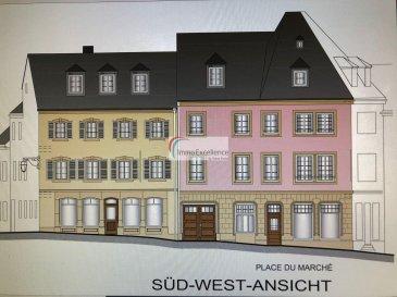 IMMO EXCELLENCE vous propose un local commercial situé au rez-de-chaussée d'une surface totale d'environ 231 m2 ( ancienne Pâtisserie SIMON )  sur la fameuse PLACE DU MARCHE à ECHTERNACH.    Le local se compose comme suit : 7 pièces pouvant servir de bureaux  ( 24m2, 11m2, 14m2, 22m2, 17m2, 19m2,16m2 ), les divers halls   W.C. ont une surface de 76 m2, la terrasse de 14 m2, la cour ainsi que la véranda ont une surface de 18 m2, .  Les bureaux peuvent être encore aménagés selon souhait du client, et bien évidemment sous diverses conditions.  Les bureaux conviennent idéalement à un cabinet d'avocat, sinon un cabinet médical ou toute autre activité libérale.  Situation idéale sur la Place du Marché, au plein Centre d'Echternach avec toutes ses commodités.  Le bâtiment avec ses grandes baies vitrées et sa situation idéale, offre une parfaite visibilité.  Pour plus d'information, veuillez contacter notre agence.   Plusieurs documents sont disponibles sur simple demande.  Echternach est une ville du Luxembourg d'environ 5 300 habitants et le chef-lieu de son canton, le long de la vallée de la Sûre marquant la frontière avec la Rhénanie-Palatinat allemande.   Elle est surtout connue pour son abbaye et sa procession dansante de Pentecôte.