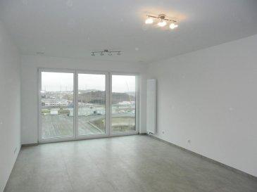 APPARTEMENT NEUF  - 1. LOCATION  - DISPONIBLE DE SUITE<br><br>Bel appartement  très lumineux  au 4ème étage dans nouvelle résidence «JAZZ» de conception très moderne (basse consommation d\'énergie-AAA)  située au cœur du nouveau quartier ESCH-BELVAL.<br><br>L\'appartement se compose comme suit:<br>==============================<br> -  Hall d\'entrée <br> -  Grand Séjour ouvert sur coin cuisine moderne entièrement équipée (29.20 m²)  <br> -  1 chambre à coucher parentale  (17.10 m²) avec SDB en suite <br>-   1 chambre à coucher (13,80 m²)<br>-   Salle de bains  et WC  (4.70 m²) <br>-   Salle de douche (3.90 m²)<br>-   WC séparé  (2.70 m²)<br>-   Cave privative  (4,20 m²)     <br>-   Parking intérieur privatif  pour une voiture <br>-   Buanderie commune  - Local poussette / vélo<br><br>- Appartement entièrement équipé en luminaires (LED)<br>- Store-lamelles électrique extérieur (occultant et tamisant)<br><br> * Disponible de suite*<br><br>Idéallement situé car proche de toutes commodités:  Uni Lux, Lycée Belval, Gare Belval-Université, Centre commercial, Supermarché, Cinéma, Restaurants etc.. <br><br>Detail de location:<br>=============<br>Loyer:             1.350  €<br>Charges:           150   €<br>Garantie locative: 2.700  €  (2 mois de loyer)<br>Frais d\'agence:     1.579 €  (1 mois de loyer +17% Tva)<br><br />Ref agence :1722543