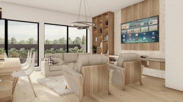 """Déjà 50% vendu!  Joli appartement lumineux dans une nouvelle résidence à 4 unités (transformation complète et agrandissement).  Achèvement deuxième trimestre 2022.  L'appartement au 2. étage se compose comme suit :  - Grand Living-sejour avec cuisine ouverte 34m2  + balcon de 3m2  - Hall d'entrée   - Salle de douche avec douche à l'italienne  - Chambre à coucher 1   - Chambre à coucher 2   - WC séparé (optionnel)  - Grande cave inclus dans le prix  - Finition haut de gamme à l'intérieure   Excellente situation géographique :  A 200m de la piscine Escher Schwemm A 200m du Lycéé Hubert Clément  A 400m de l'Hôpital Emile Mayrich et de la Maison Médicale de Garde A 500m de la nouvelle trace prévue du tramway Luxembourg- Esch A 700m de l'école Dellhéicht A 800m du Lycée de Garçons A 1000m du Centre Médical Clinique Sainte Marie  De plus, proche de la Poste, Maison relais, Crèche, nombreuses Restaurants etc  A 5min du complexe commercial Belval et de l'Université du Luxembourg (campus Belval)  Acheter un appartement dans cette résidence vous donne la possibilité d'intégrer vos idées/préférences dans votre futur logement !  Acheter du neuf c'est avoir la garantie et la tranquillité pour des années.  Trouvez également toutes les informations pratiques de la deuxième ville du pays sur le site de la commune d'Esch : www.esch.lu Esch, ma ville, ma vie !   ----------------------------------------------------------------------------------------  Schéint an hell Appartement an enger neier Residenz mat 4 Eenheeten (komplett renovéiert an vergréissert).   Fäerdegstellung zweet Trimester 2022.   D'Wunneng um 2. Stack ass folgend opgebaut:   - Wunnzëmmer mat oppener  Kichen (+/-34m2)  +  Balkon (3m2)  - Agankshal   - Duschraum matt """"douche à l'italienne""""  - Schlofkummer 1   - Schlofkummer 2   - WC séparé (optional)  - Grousse Keller abegraff am Präis    Excellent geographesch Lag:  200m vun der Escher Schwemm  200m vum Lycée Hubert Clément   400m vum Emile Mayrich Spidol an der Maiso"""