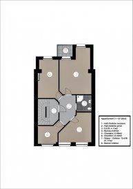 Joli appartement lumineux dans une nouvelle résidence à 4 unités (transformation complète et agrandissement).  Achèvement deuxième trimestre 2022.  L'appartement au 2. étage se compose comme suit :  Living-sejour avec cuisine ouverte ou séparée (dépend si on veut encore disposer d'un bureau séparé) + balcon de 3m2  Hall d'entrée   Salle de douche avec douche à l'italienne  Chambre à coucher 1 de 13m2  Chambre à coucher 2 de 13.3m2  Bureau indépendant ou cuisine séparée  Disposition intérieure modifiable  Grande cave inclus dans le prix  Finition haut de gamme à l'intérieure  L'aménagement intérieur est modifiable, le bureau peut être remplacé afin de créer une deuxième chambre à l'arrière et agrandir le séjour.  Excellente situation géographique :  A 200m de la piscine Escher Schwemm A 200m du Lycéé Hubert Clément  A 400m de l'Hôpital Emile Mayrich et de la Maison Médicale de Garde A 500m de la nouvelle trace prévue du tramway Luxembourg- Esch A 700m de l'école Dellhéicht A 800m du Lycée de Garçons A 1000m du Centre Médical Clinique Sainte Marie  De plus, proche de la Poste, Maison relais, Crèche, nombreuses Restaurants etc  A 5min du complexe commercial Belval et de l'Université du Luxembourg (campus Belval)  Acheter un appartement dans cette résidence vous donne la possibilité d'intégrer vos idées/préférences dans votre futur logement !  Acheter du neuf c'est avoir la garantie et la tranquillité pour des années.  Trouvez également toutes les informations pratiques de la deuxième ville du pays sur le site de la commune d'Esch : www.esch.lu Esch, ma ville, ma vie !   ----------------------------------------------------------------------------------------  Schéint an hell Appartement an enger neier Residenz mat 4 Eenheeten (komplett renovéiert an vergréissert).   Fäerdegstellung zweet Trimester 2022.   D'Wunneng um 2. Stack ass folgend opgebaut:   Wunnzëmmer mat oppener oder getrennter Kichen (je no deems ob Dir nach e separaten Büro wëllt hunn) + 3m2 Balkon   Aganks