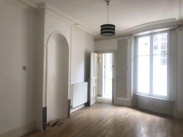 APPARTEMENT 2 - TOUL. A quelques pas de la Place ronde, dans un immeuble de caractère, venez visiter ce bel appartement de 50 m² comprenant un séjour très lumineux, cuisine, une chambre, une salle de douche et une cave. Profitez également d'un vaste grenier de 50 m² au sol, permettant d'obtenir un bel espace d'aménagement habitable supplémentaire ou de stockage. Situé au 1er et dernier étage en arrière corps de bâtiment, cet appartement  vous assurera calme et tranquillité !Aucuns travaux à prévoir, chauffage gaz de ville, petite copropriété à très faibles charges, syndic bénévole et parkings à proximité.Prix : 57 000 euros frais d'agence inclus à la charge du vendeur.- barème honoraires : www.tfimmo.com /nos-honoraires.php - Contact : 0675414705 - tfimmo54@gmail.com
