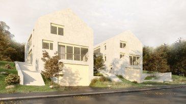 SCHENGEN 1.585.000 Euros.  Nouveau projet de construction maison libre 4 côtés clef en main construite sur un terrain de +-5,06ares..  Maison aux finitions haut de gamme située dans le village de Schengen proche de toutes commodités proches des vignes.  La maison se compose d'au   Sous-sol: Hall / rangement +-3,80m2, débarras, salle technique, buanderie, cave, garage de +-60,39m2 pour 2-3 voitures  Rez de jardin: vaste Hall d'entrée +-13,24m2, living-salle à manger +-37,59m2 très lumineux avec de grandes baies vitrées donnant sur la terrasse, jardin et les champs, cuisine ouverte +-19,11m2 donnant à l'extérieur sur la patio de +-9,64m2, TV room / chambre +-26,08m2, débarras +-4,28m2, WC séparé +-2,14m2  1ier étage: hall de nuit +-9,62m2, 1 suite parentale de 24,94m2 avec son coin dressing / salle de bains +-14,03m2 donnant à l'arrière avec une vue imprenable, 2 chambres à coucher +-13,42m2/+-22,12m2, salle de douche +-10,25m2, WC séparé +-1,81m2  Equipements: classe énergétique AA, chauffage pompe à chaleur avec chauffage au sol, triple vitrage PVC avec stores électriques...  Prix TVA 3% compris. Plans disponibles sur demande.  Absolument à découvrir, plans intérieurs ajustables suivant les désirs de chacun.   ***HERBY IMMO = MEILLEURS PRIX DU MARCHE***   (Herby Immo vous garantit le prix d`achat le moins cher du marché)