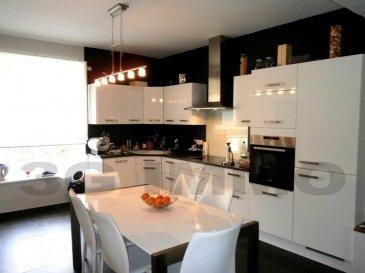 En exclusivité avec 3G Immo à Chénières, maison individuelle totalement rénovée en 2012 de 130m² habitables 4 chambres.  Le rez-de-chaussée, entièrement carrelé, se compose d'une cuisine full équipée avec osmoseur ouverte sur le séjour (34m²), d'un WC, d'une salle d'eau et d'un garage d'environ 30m². A noter la présence d'une cave sur terre-battue. Au premier étage, sur parquet, se trouvent deux belles chambres communicantes d'environ 16m² et une suite parentale composée d'une chambre de 16,5m² avec penderie/dressing intégrée et d'une salle d'eau de 13,5m² avec WC suspendu et meuble 2 vasques. Au dernier étage nous retrouvons la quatrième chambre avec une partie dressing ainsi qu'un grenier pour stockage.  Terrain de 13 ares constructibles avec un second garage, une terrasse de 30m² carrelée en 2015, portail et portillon en alu et électriques.  Rénovation totale de 2012 faite avec gout et matériaux de qualité : électricité aux normes, VMC hydroréglable pour les pièces d'eau, chauffage assuré par une PAC et une chaudière fuel pour une consommation totale d'électricité (chauffage + domestique) d'environ 1500€ à l'année, DV PVC avec volets électriques, visiophone, alarme avec vidéo et alarme volumétrique, réseau RJ45 dans toutes les pièces, équipement sanitaire et salle d'eau haut de gamme.    Le prix inclut nos honoraires Pour tous renseignements : Grégory Lambermont : 06.42.85.79.02  François Lambermont : 06.23.51.05.74  www.lambermont-immo.com  www.3gimmobilier.com/lambermont  Mandataires indépendants du réseau 3G Immo Consultant immatriculés au RSAC de Briey N°524 212 917 et N°791 005 580