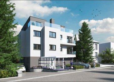 Résidence MARIE CURIE  Future construction d'une résidence de 6 appartements à Bereldange,  situation calme, près de la nature et à 12 min de Luxembourg ville.  Nouvelle résidence de haut-standing. Classe énergétique AA propose :   - App 79 m², 2 chàc au 2ieme étage, balcon, 730.000 tva 3 %  - App 73,94m, 1 chàc au premier étage, balcon, 638 000 tva 3%   - Penthouse 94 m², 2 chàc au troisième étage, terrasses 50 m², ascenseur privé   870.000 tva 3 %  - App 146 m², 3 chàc, jardin 411 m² , 1.300.000 tva 3 %  Parking intérieur simple en supplément au prix de 30.000 ' TVA 3% comprise Parking intérieur double en supplément au prix de 50.000 ' TVA 3% comprise Parking extérieur en supplément au prix de 15.000 ' TVA 3% comprise  Pour des renseignements vous pouvez me contacter au 691 850 805. Ref agence :SE